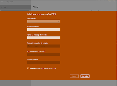 Config VPN WIndows 10